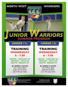 NW WARRIORS Junior Program summer