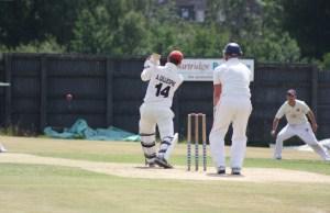 Aaron Gillespie on the attack in Strabanes win over Brigade