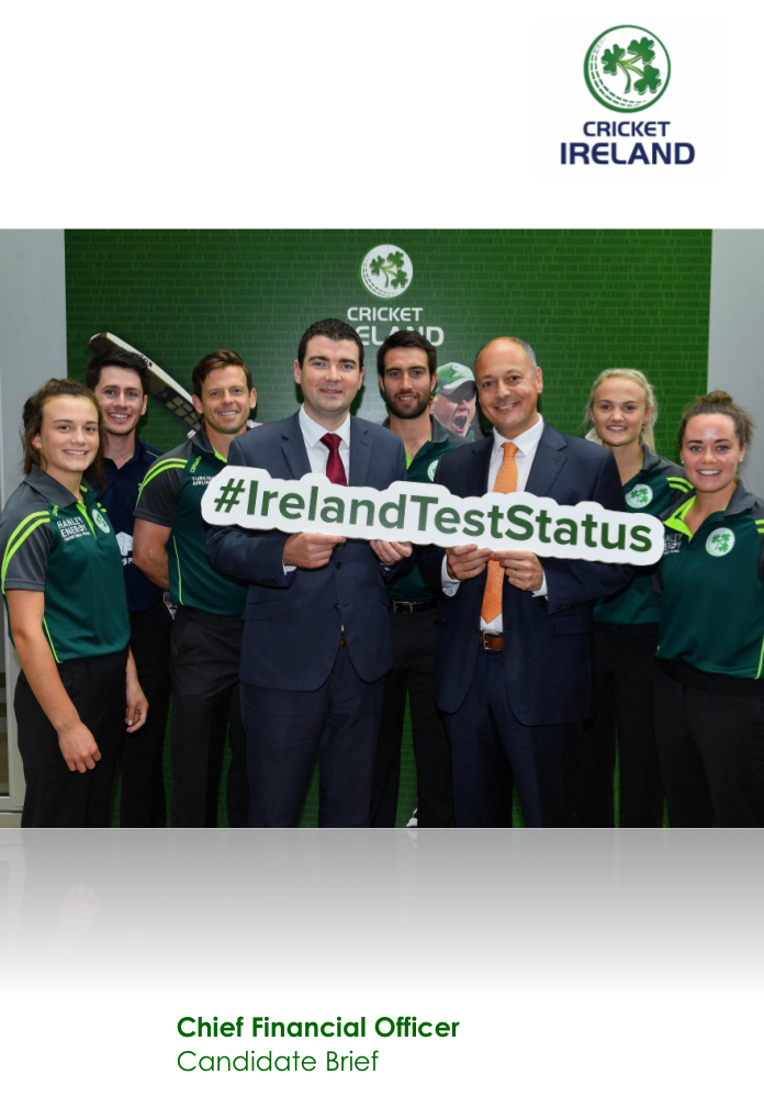 Cricket Ireland Cheif Financial Officer Vacancy
