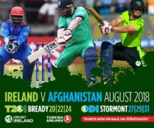 Ire Vs Afg Bready August 2018