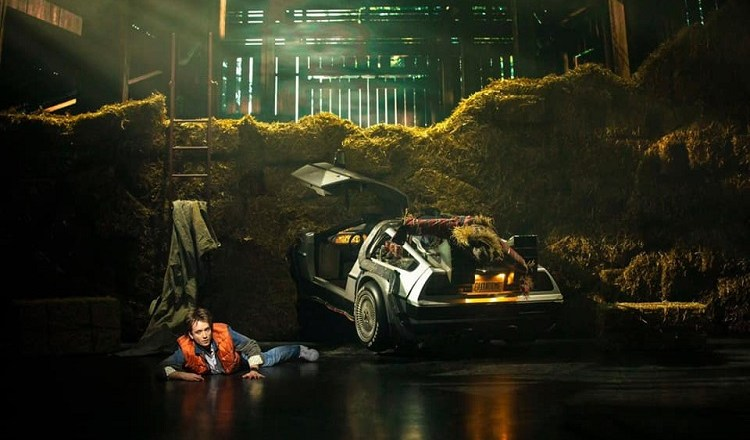 Back to the Future the Musical begins performances 20th August at the Adelphi Theatre