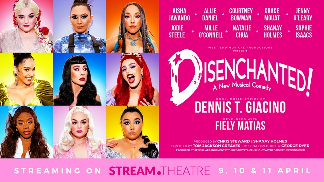 West End women unite for a digital retelling of hilarious hit musical Disenchanted
