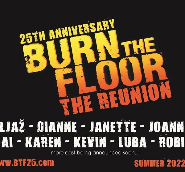 25th Anniversary – BURN THE FLOOR – The Reunion