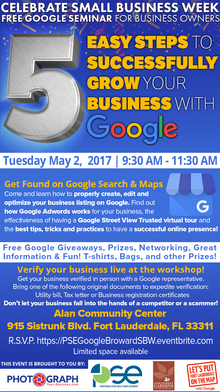 Small-Business-Week-PSE-Broward-Google-Seminar-Robert Martinez-Photograp...