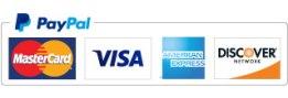 PayPal CreditCard Logos