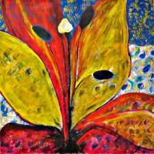 Ellen Green Painting of flower