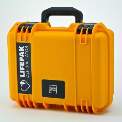 Optional Physio Control LIFEPAK CR Plus Weatherproof Hard Case.