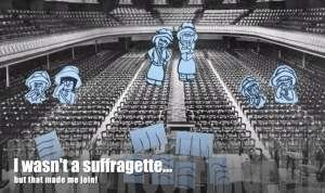 Suffragettes - animation for International Women's Day