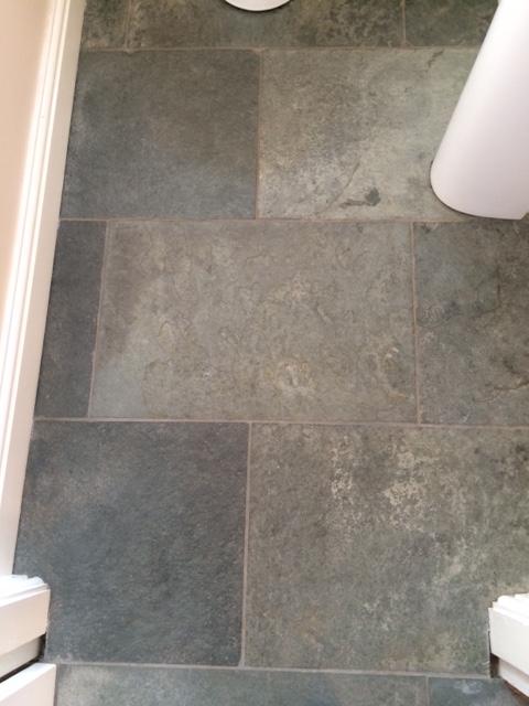 restoring green westmorland slate tiles