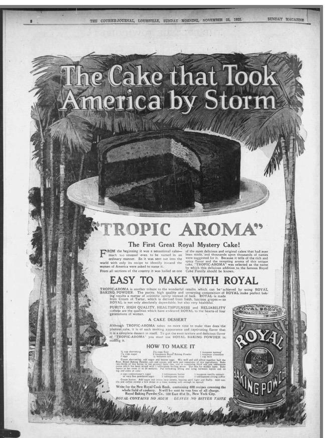 Tropisk Aroma-Kake (Norwegian Tropical Aroma Cake)