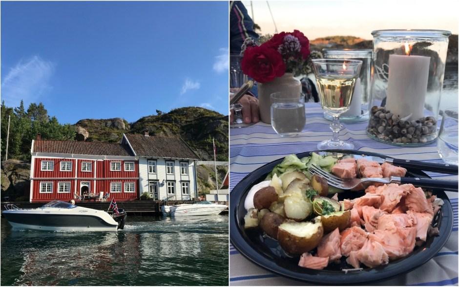 The Southern Coast (Sørlandet) + Salt Water Salmon Steaks