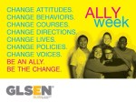 Photo: Ally Week poster, courtesy of GLSEN