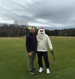 golf christmas