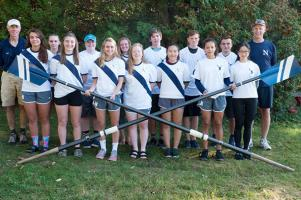 The crew team during the 2018-19 school year.
