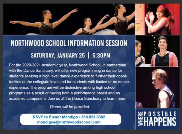 Dance Info Session