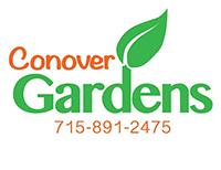 Conover Gardens logo click to Facebook page