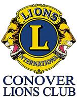 Conover Lions Club logo click to website