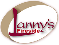 Lanny's Fireside logo click to Facebook page