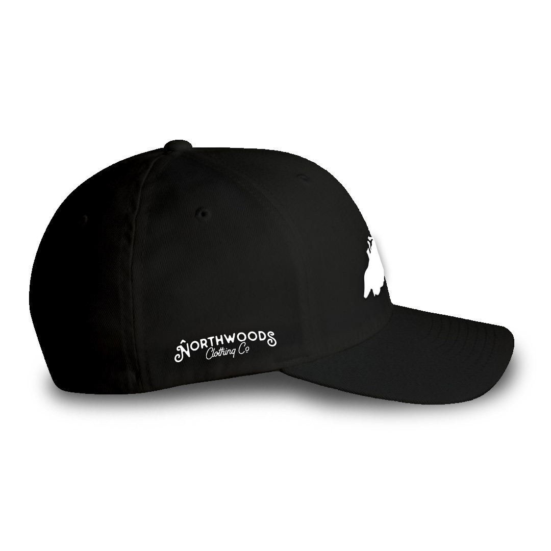 Lake Superior Fitted Hat by Northwoods Clothing Co.    Inspired by ... 323c7b74d84b