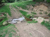 Esk tributary - crossing point for livestock and machinery - source of sediment getting into the river.