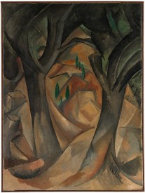 Trees at L'Estaque by Georges Braque - The Metropolitan Museum of Art http://www.metmuseum.org