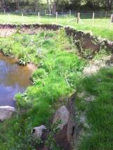 River Esk, sharp bend site - after (May 2015). Copyright Wild Trout Trust.