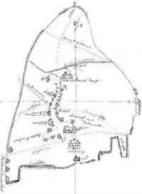 Map of Norton of c 1700