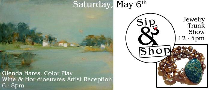 glenda hares - sip-n-shop - may 6