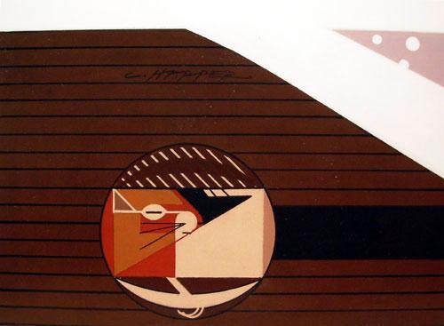 Charley Harper - Cozy Chipmunk