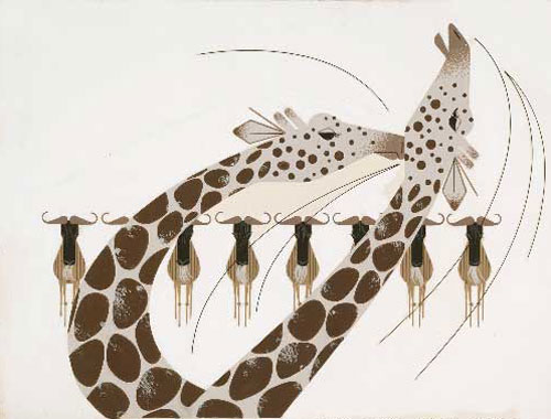 Charley Harper - Neck and Neck