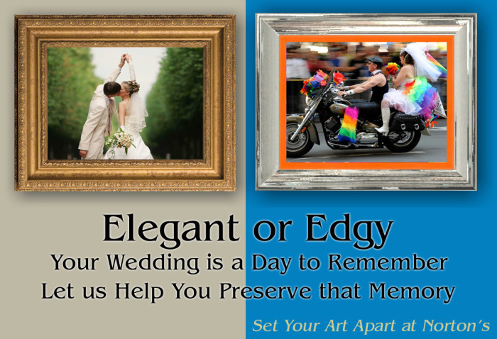 Elegant or Edgy Wedding