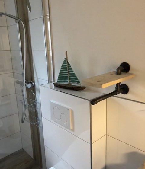Nortorf Ferienwohnung Poststraße Badezimmer