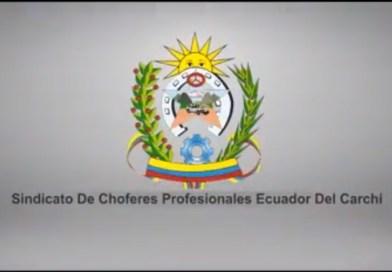 Sindicato de chóferes Profesionales Ecuador del Carchi