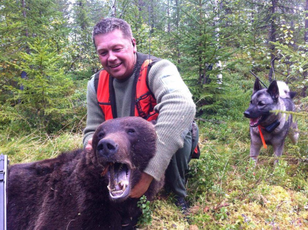 Sten Erik på bjørnejakt