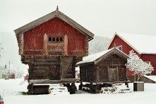 Traditional Stabbur in Telemark