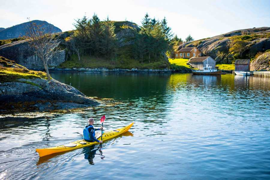 Kayaking in Solund