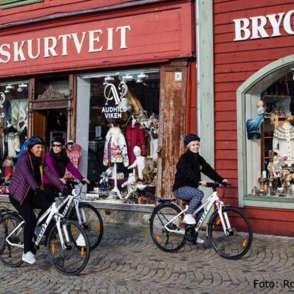 Biking with guide in Bergen