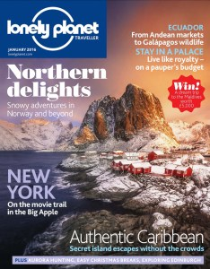 Front page Lonely Planet Magazine