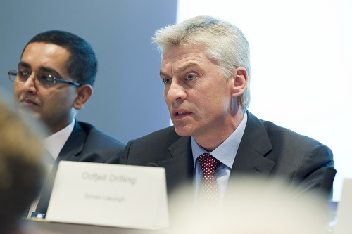 CEO Simen Lieungh in Odfjell Drilling