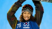 Japanese Yuki Kadono won the men's Big Air snowboarding in the X-Games