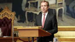 Brende about Syria extract: Action must follow words