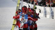 Norwegian golden girls celebrated victory