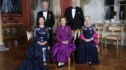 King and Queen in the 70th anniversary of King Carl Gustaf
