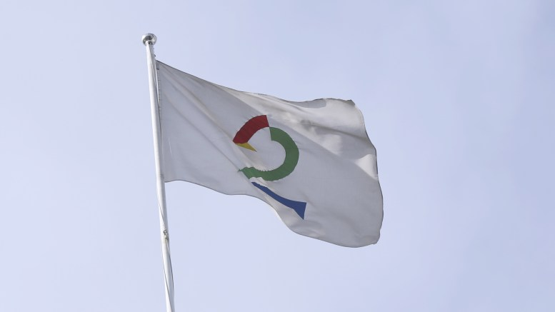 Flag with TV2 logo