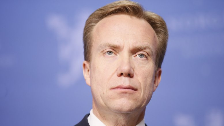 Minister of Foreign Affairs Børge Brende ( Conservative Party )