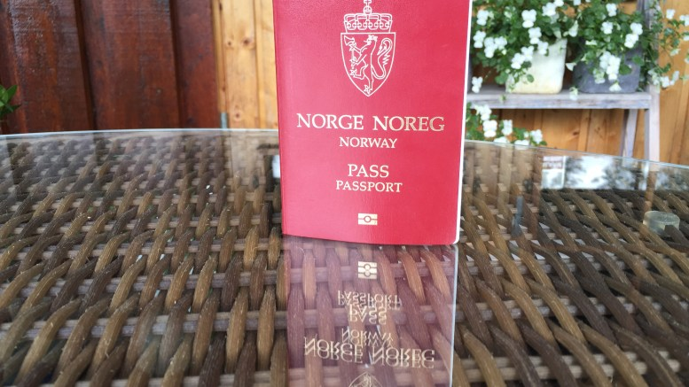Norwegian Passport.