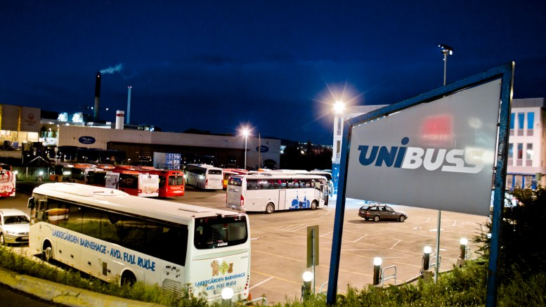 Unibuss got big contract for bus transport in Oslo