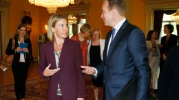 Frederica Mogherini meets Foreign Minister Brende