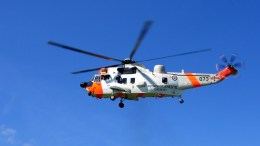 A Sea King rescue helicopter