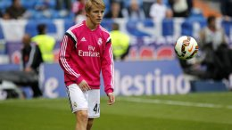 Real Madrid player Martin Ødegaard